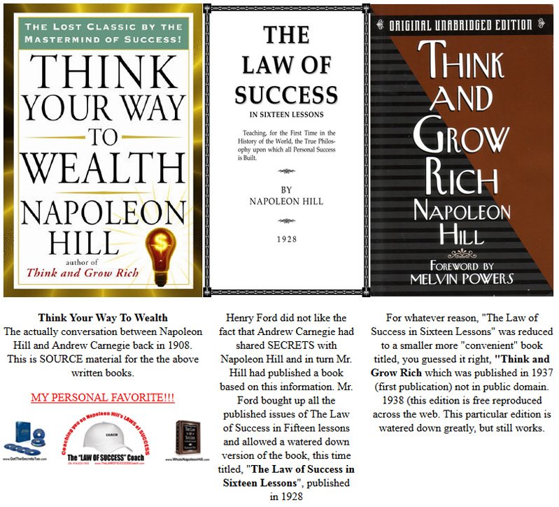 Napoleon Hill - Money making formula _ TEXT ONLY